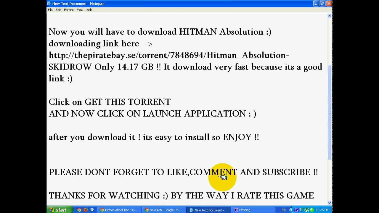 How to download hitman absolution for pc (free-100% works) youtube.