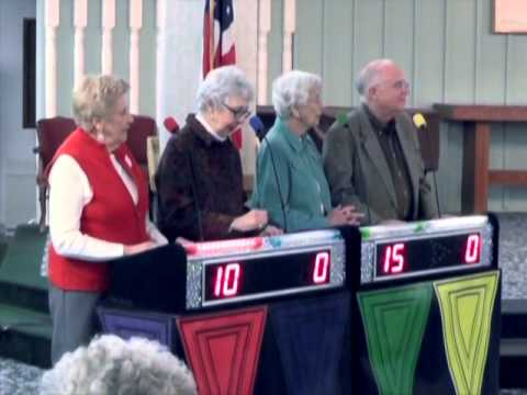 Game Show event at Lakeview Village Retirement Community