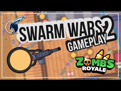Zombs Royale   Swarm Wars Gameplay #2