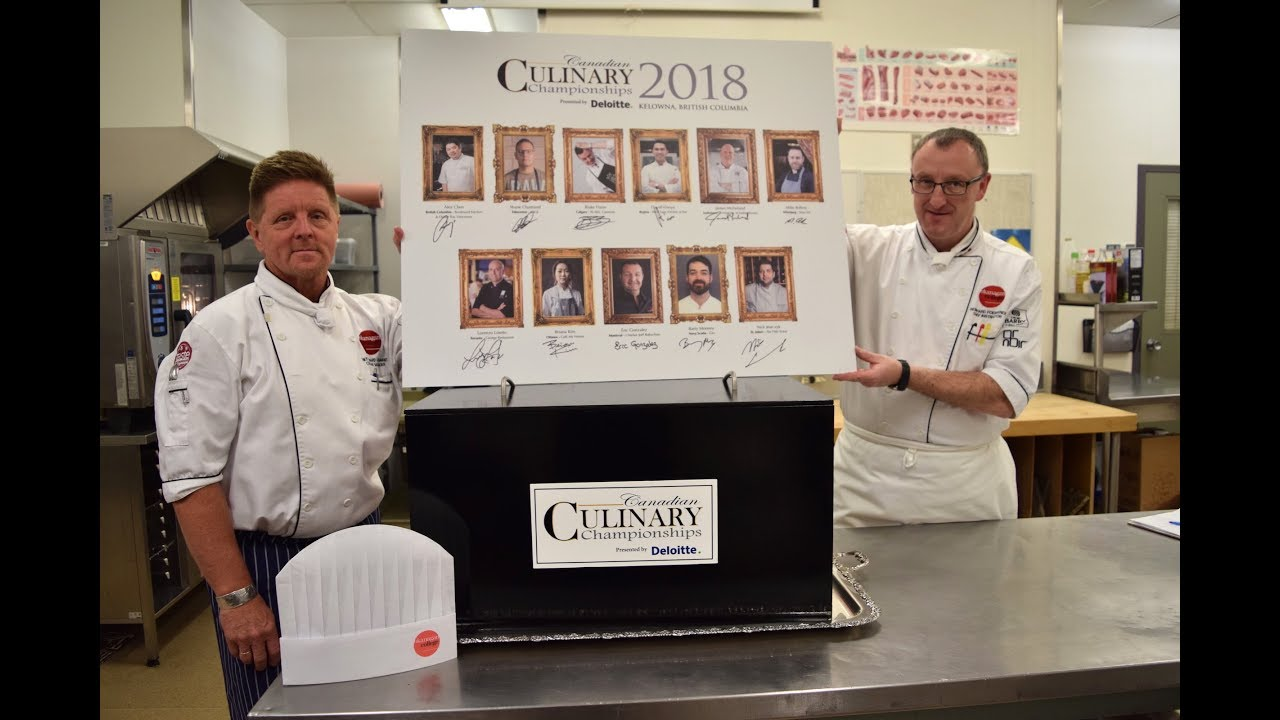 2018 Canadian Culinary Championships Gold Medal Plates Black Box Competition