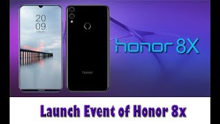 Launch Event Of Honor 8X