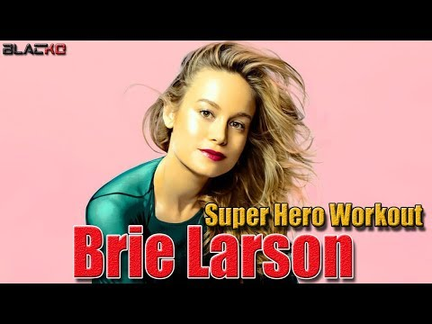 Brie Larson   Incredible Workout & Training For Superhero