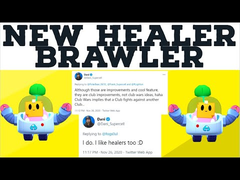 *NEW HEALER* BRAWLER? - CLUB WARS NEWS - CHAMPIONSHIP PINS NEWS - DECEMBER UPDATE - BRAWL STARS NEWS