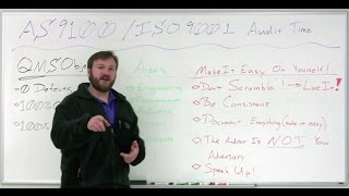 AS9100 & ISO 9001 Certification Preparation Tips - Weekly Whiteboard