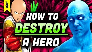 Watchmen vs. One Punch Man: How To Destroy A Hero (Satire vs. Parody) - Wisecrack Edition