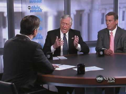 Interview With Reps. Steny Hoyer and John Boehner