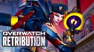 [Overwatch] Retribution Mission Cutscenes + Full Mission Gameplay! [English Dub] [Reaper]