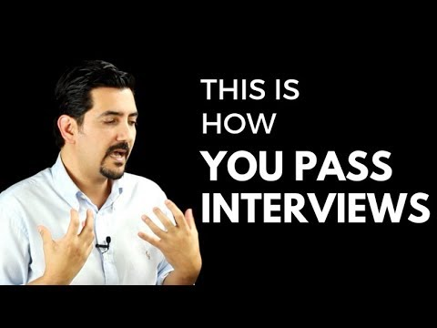 Interview Success MasterClass - Learn How To Pass Job Interviews  ✓