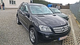KUPIO SAM AUTO - MERCEDES-BENZ ML 2007.