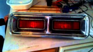 1968 camaro LED tail lights