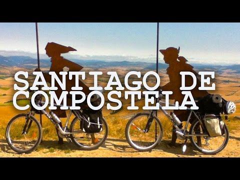 6 años de viajes - 2000 km en bicicleta, de Francia a Santiago de Compostela, España (Parte 3/6)