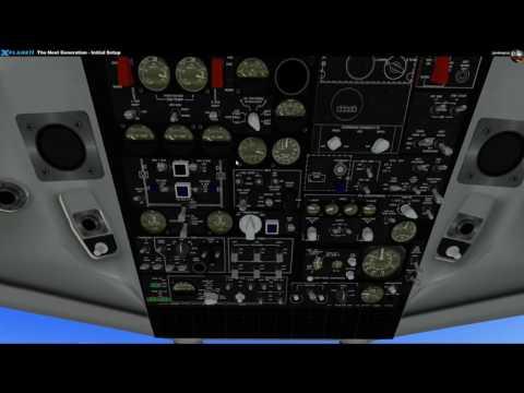 X-Plane-11: Meine ersten Schritte Teil 13 - DC-9 Freeware [German]