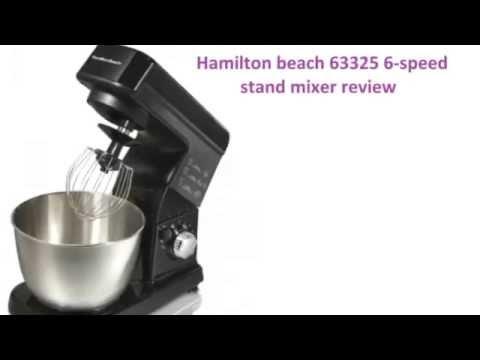 63325 6 speed stand mixer