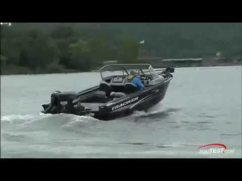 TRACKER Boats 2016 Targa V 20 WT Review By BoatTEST Com