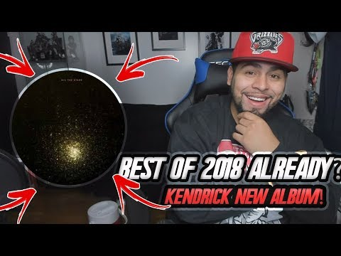 NEW ALBUM SONG! Kendrick Lamar ft  SZA - All The Stars REACTION