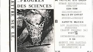 Various -- Lettre Sûr Le Progrès Des Sciences (full album)