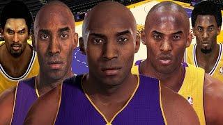 Kobe Bryant From NBA 2K to NBA 2K16