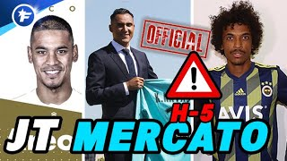 OFFICIEL : Navas au PSG, Areola au Real, Gustavo quitte l'OM | Journal du Mercato - édition de 19h30
