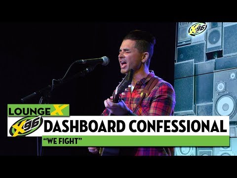 "Dashboard Confessional ""We Fight"""