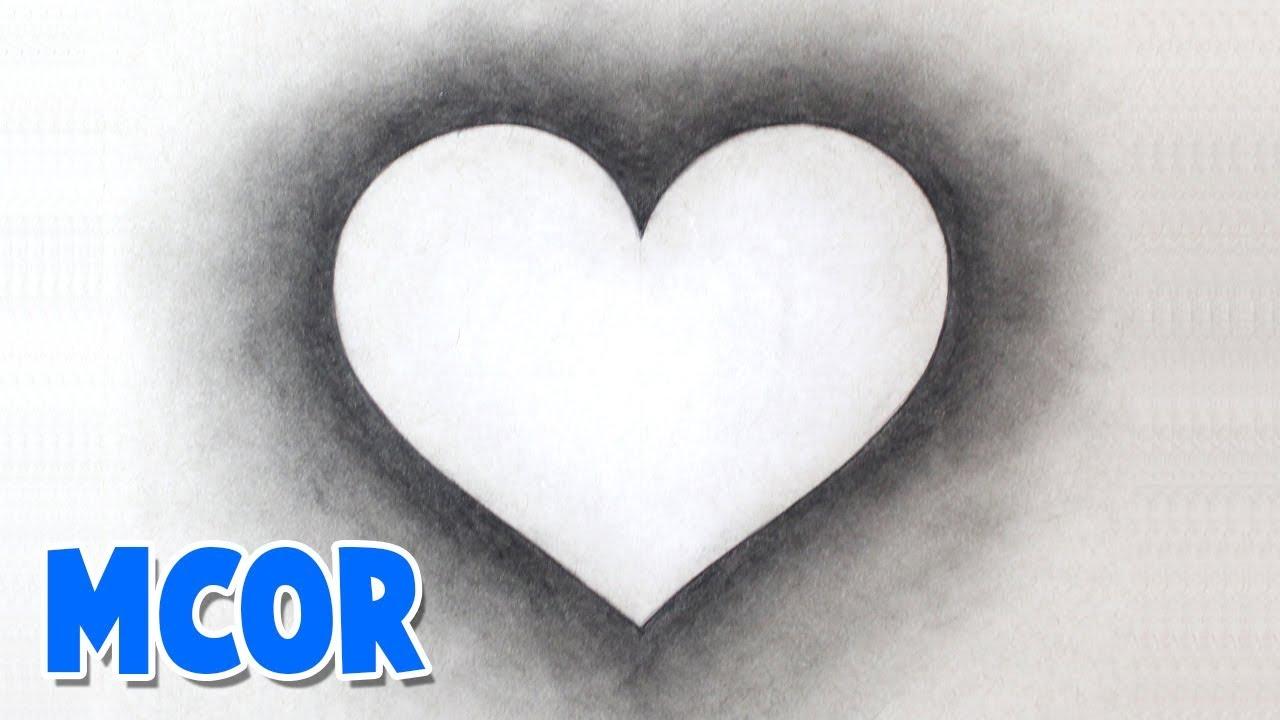 Como Dibujar Un Corazón Perfecto Y Facil