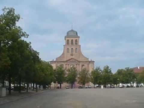 France: Neuf-Brisach (7/7) Place d'Armes Général de Gaulle 2012-08-13(Mon)1711hrs