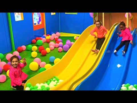 Fun Indoor playground for Kids - Long Slide