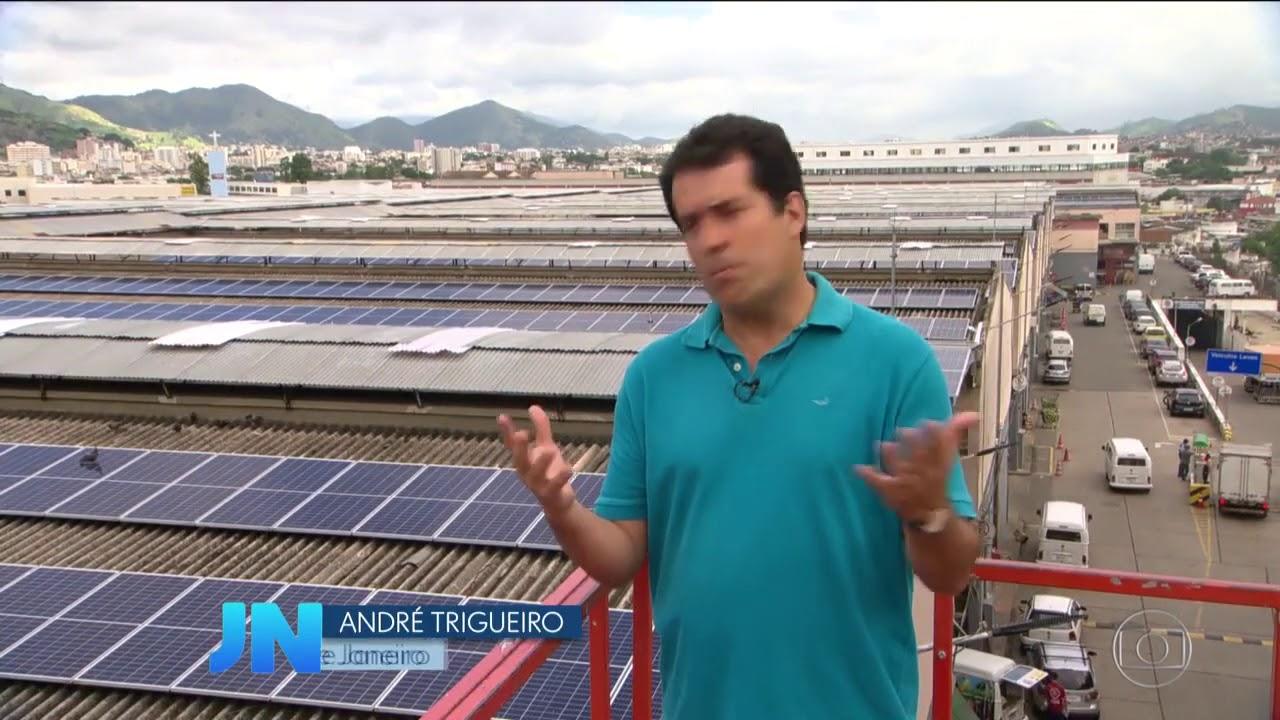 JORNAL NACIONAL ENERGIA SOLAR FOTOVOLTAICA AVANÇA NO BRASIL