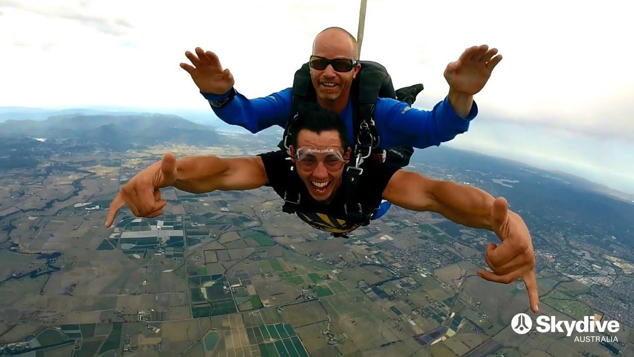 video Yarra Valley 15,000ft Tandem Skydive (Weekend)