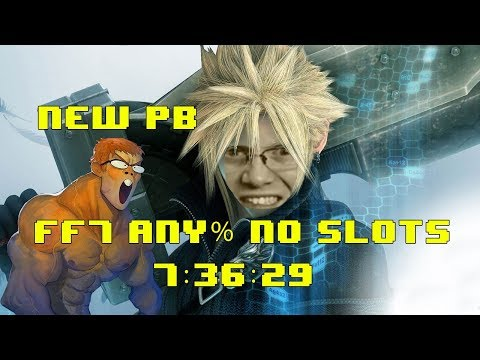 Final Fantasy VII (Any% No Slots) Speedrun in 7:36:29 - PB by 00:07:48