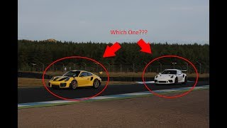 GT2 RS & GT3 RS @ Knockhill Racing Circuit