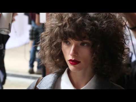 2016 Fashion Week Australia Hair - Kit X - Behind the Scenes Hair with Renya Xydis