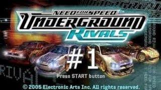 NFS UnderGround Rivals Drift Attack #1