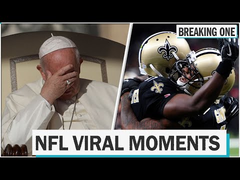 A.J. - The Pope Is A New Orleans Saints Football Fan?