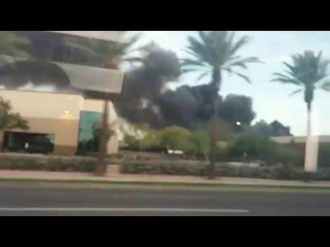Phoenix Recycling Plant Fire