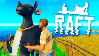 Wild Goats Invade The Raft in Raft
