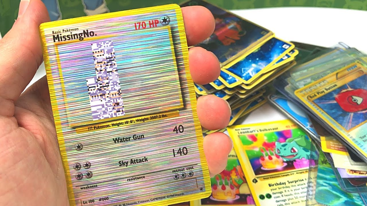 THE MOST CRAZY POKEMON CARDS EVER! - YouTube