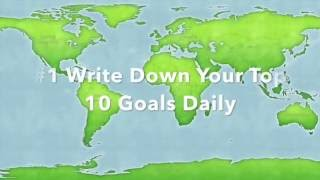 Personal Productivity Page: 5 minutes of daily planning