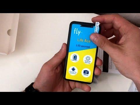 самый дешевый смартфон на андройде Fly Life Ace
