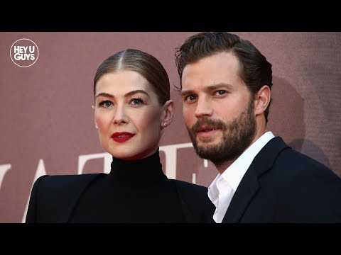 Jamie Dornan & Rosamund Pike on the important message of A Private War  LFF Premiere
