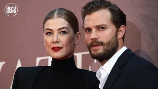 Jamie Dornan & Rosamund Pike on the important message of A Private War | LFF Premiere