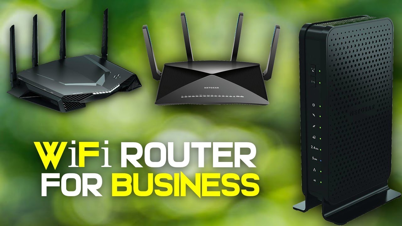 Best Routers For Business 2019 10 Best WiFi Router 2019 For Business [ Buying Guide ]   YouTube