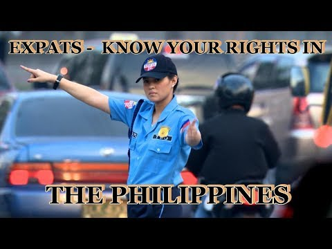 EXPATS - KNOW YOUR RIGHTS WHEN STOPPED BY TRAFFIC ENFORCERS IN THE PHILIPPINES from YouTube · Duration:  16 minutes 52 seconds