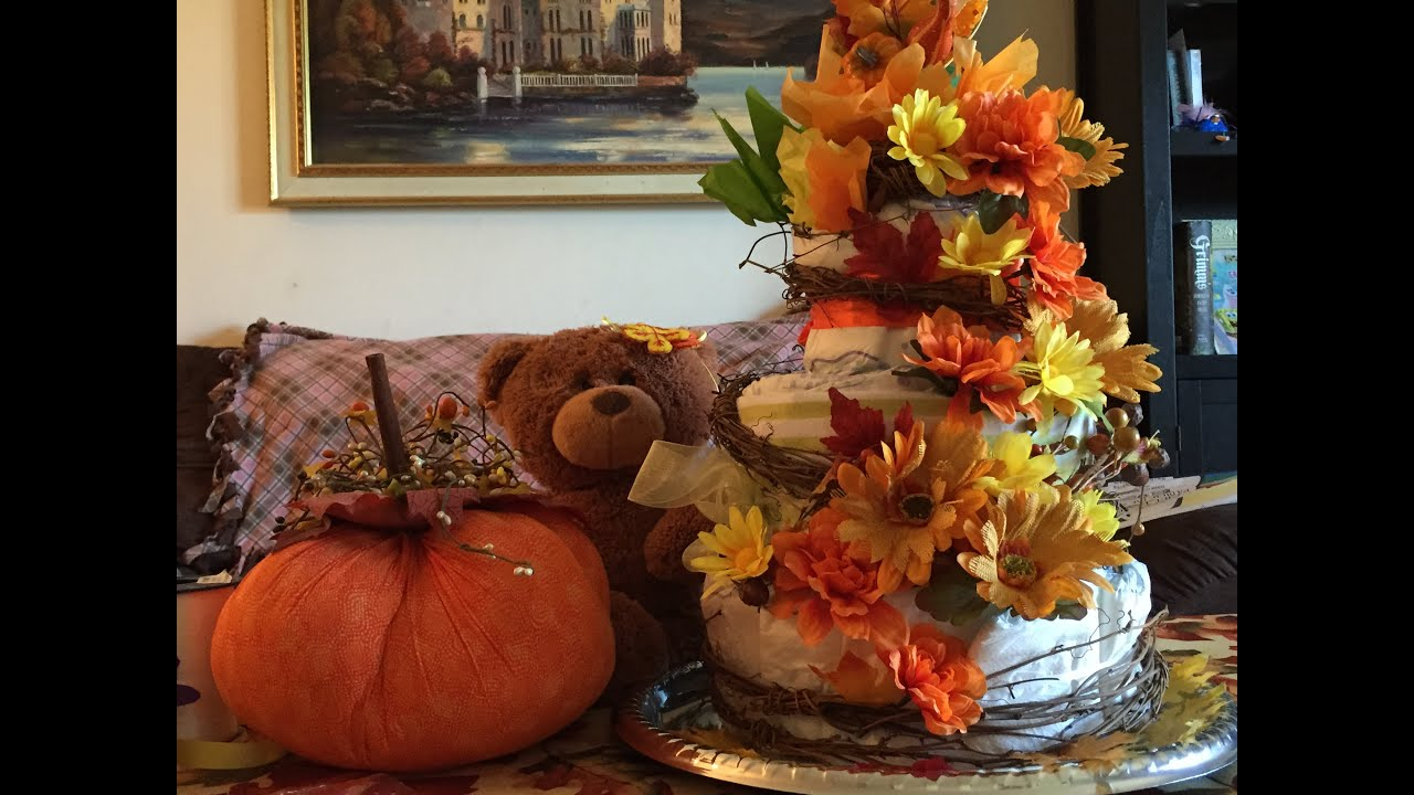 Fall Cake Ideas For Baby Shower