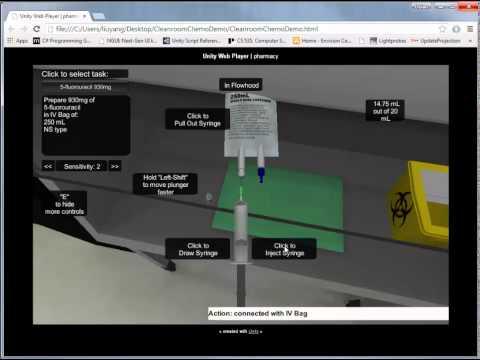 Virtual Cleanroom Demo