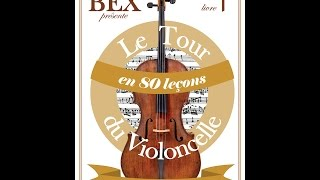 """Accompagnement Mon beau sapin """" Le tour du violoncelle en 80 leçons"""""""