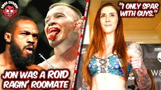 Colby Covington Says Jon Jones Used To Roid Rage in College; Megan Anderson on Sparring w/ only Men