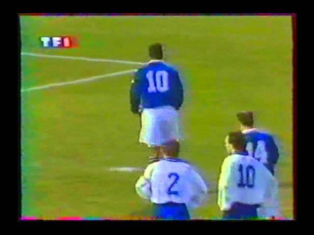 1996 (February 21) France 3-Greece 1 (Friendly).avi