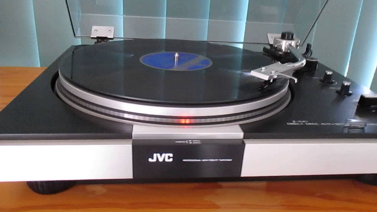 Jvc Jl A40 Direct Drive Turntable On Ebay 31 12 2013 Youtube
