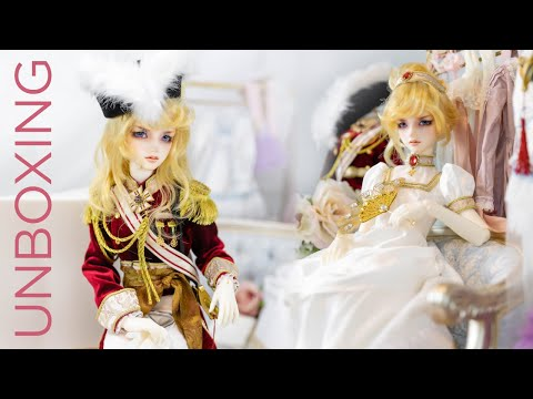 BJD Volks [The Rose Of Versailles] Lady Oscar (Limited Edition) Unboxing / Box Opening