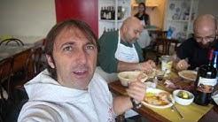 L'ultimo norcino e colazione con le cotiche alle 8 di mattina